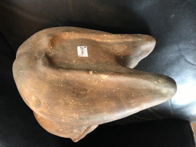 "9 1/8"" Human Effigy Bottle.  Bradley Site.  Crittenden - 7"