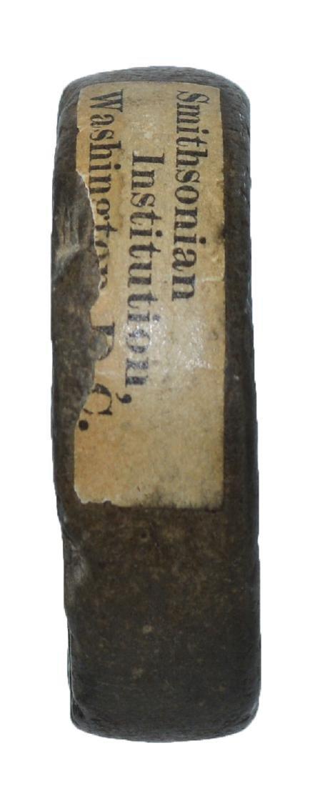 "1 3/4"" Engraved Ft. Ancient Discoidal.  Ex-Dr. Gordon - 3"