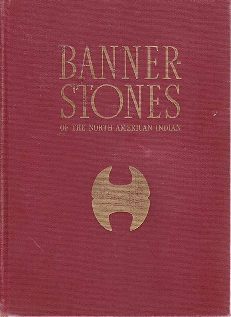"""3 7/8"""" Hardstone Crescent Bannerstone.  Pictured in - 7"""