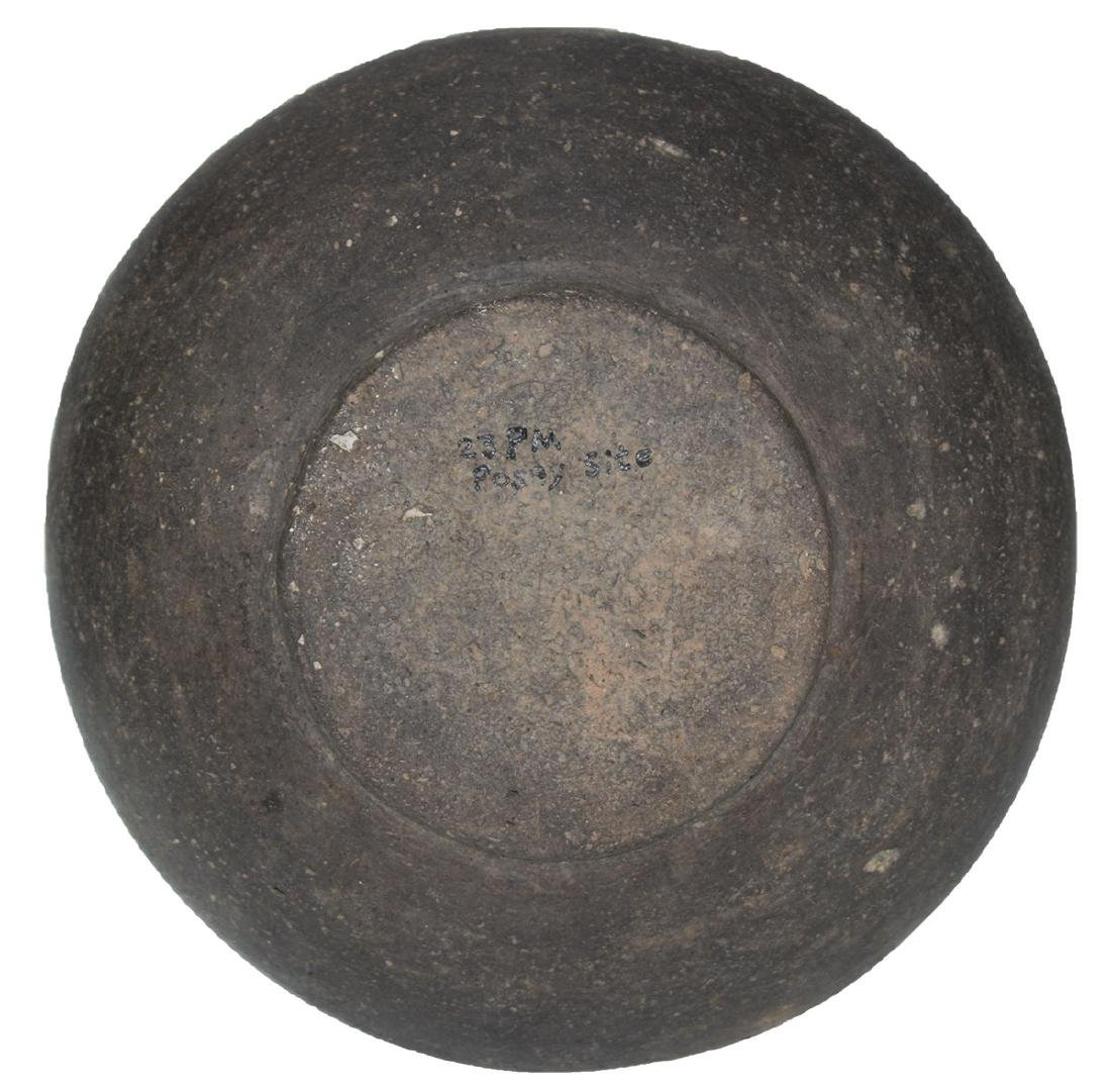 """6 1/2"""" D. Flared Top Jar.  Posey Site.  St. Francis Co, - 4"""