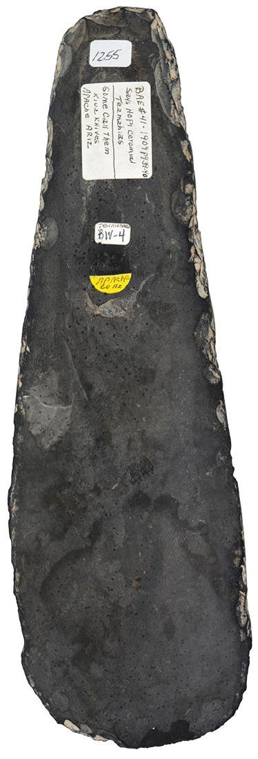 "13"" Kiva Knife.  Apache Co, AZ.  Hopi.  Ex-Dale - 2"