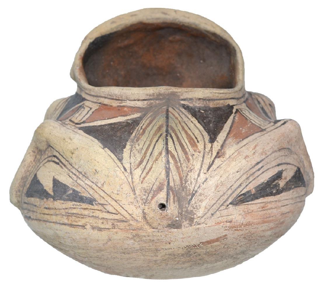 "6 1/4"" H.  Casas Grandes Human Effigy Jar.  Older - 3"