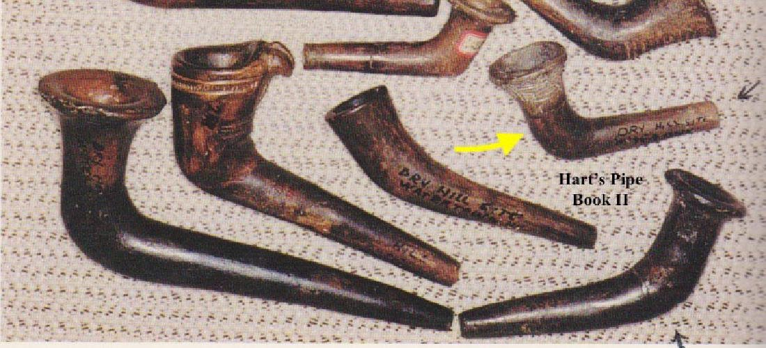 """3"""" Elbow Pipe.  Pictured in Hart's Prehistoric Pipe - 7"""