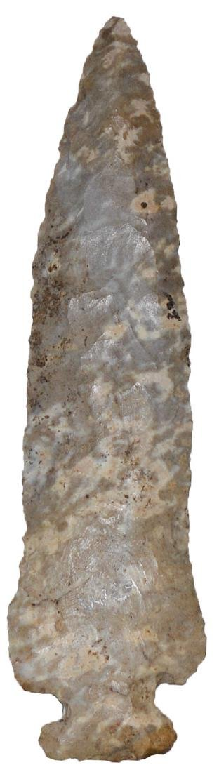 "4 3/8"" Archaic Side Notch.   Rogers COA.  Robertson Co,"