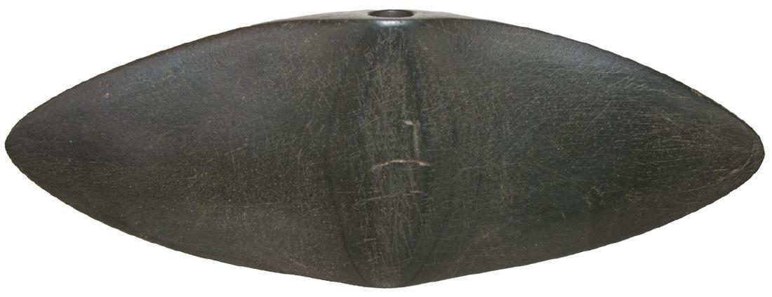 "6 3/4"" Winged Bannerstone.  Hardin Co, OH (Ada)."