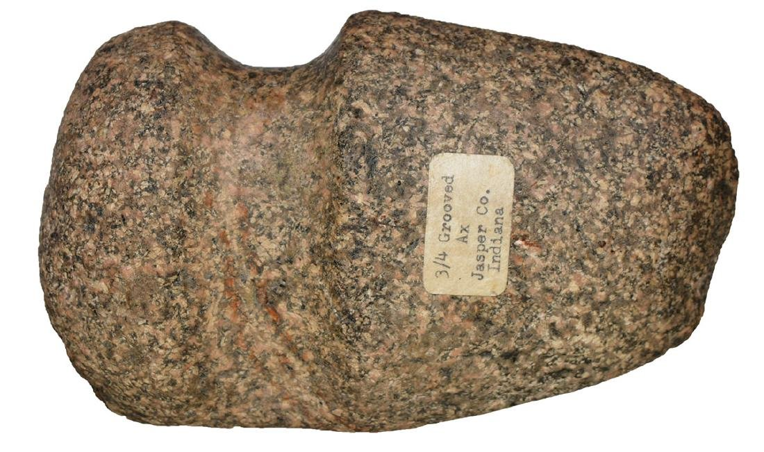 """6 1/4"""" 3/4 Groove Axe.  Jasper Co, IN.  Nicely polished"""