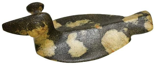 "The Zakucia Birdstone.  5"" Porphyry Popeye Birdstone."