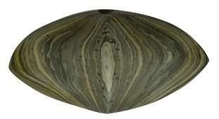 Goodwin's Slate Bannerstone.  Slate masterpiece.  Pict.