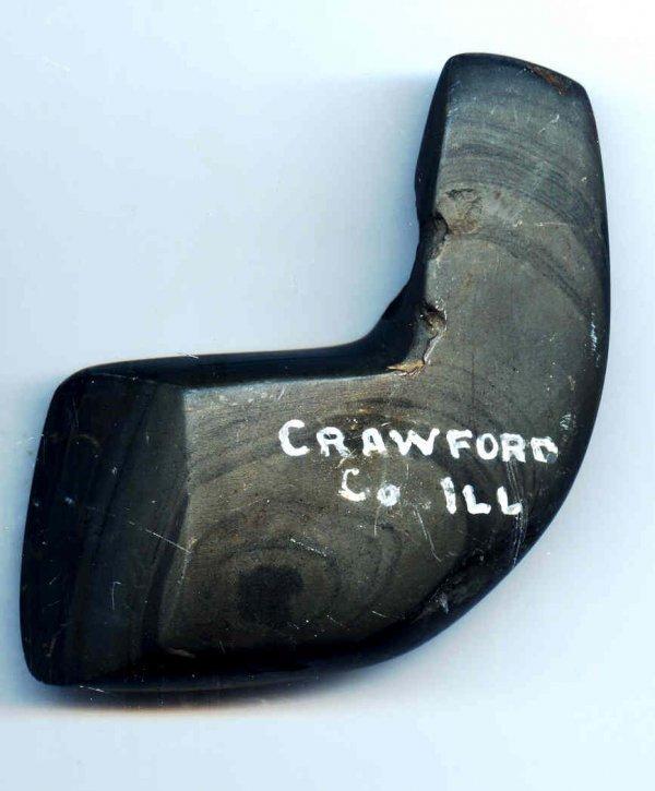 "23: 23. 2 1/2"" Geniculate Preform.  Crawford Co, IL"