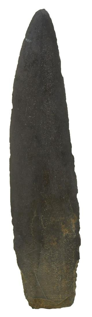 """Two Slate Points.  Alaska.  5"""" and 5 1/8"""".  Very thin"""