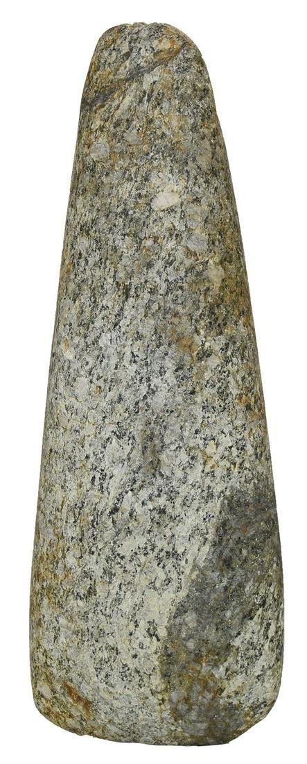 """8"""" Celt found in Dixie Co, FL.  A rare FL find made of"""
