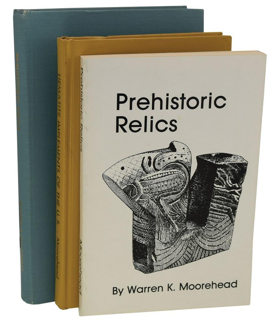 3 Books by Warren K, Moorehead includes  Hematite