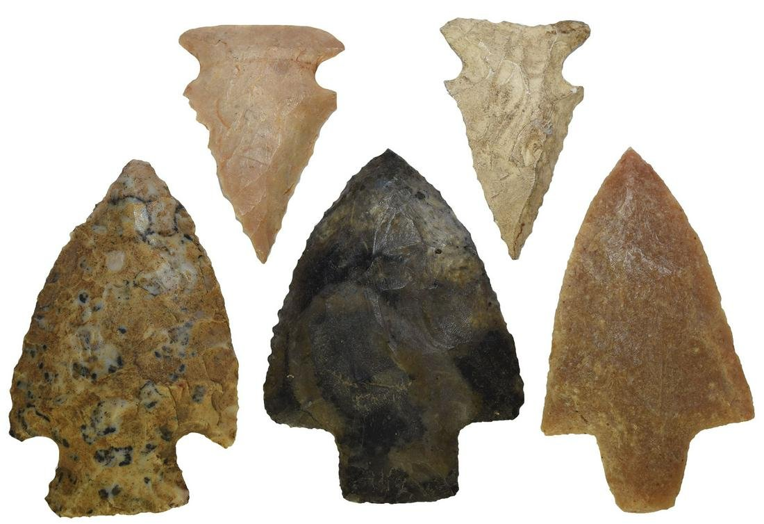 Group of 5 Southern Points: Two Bolens,  Newnan,  2
