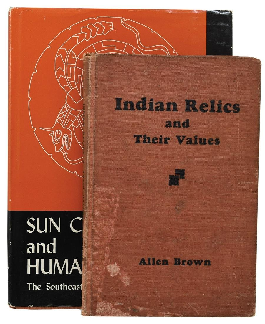 2 Books:  Sun Circles and Human Hands  and Indian