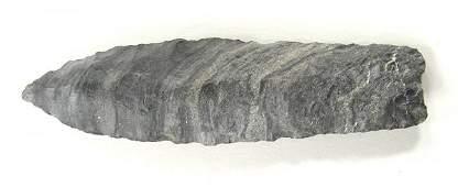 """3 7/8"""" Agate Basin.  Rogers COA.  Partain COA"""