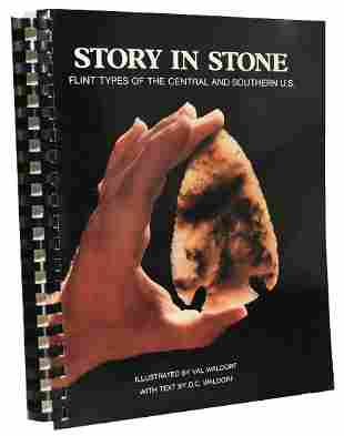 Book: Story in Stone by Valerie Waldorf. 1987 Softbound