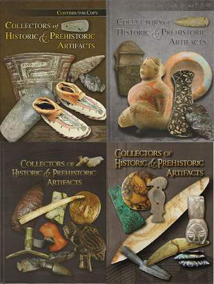 Complete 4 Vol. Set of Collectors of Historic and