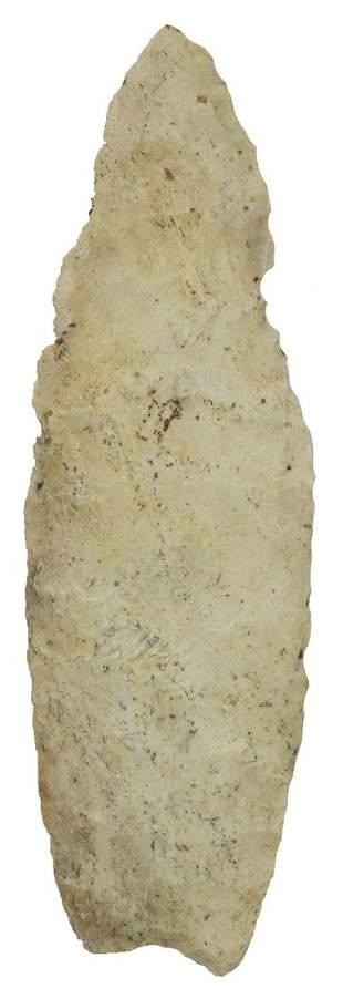 """4 3/16"""" Agate Basin. Dickey COA. Jersey Co, IL"""