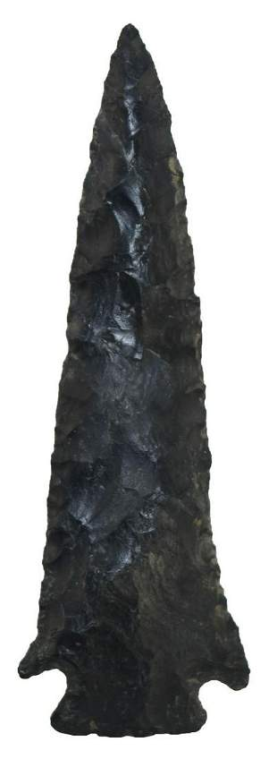 """4 3/4"""" Archaic Cornernotch. Marion Co, OH. Large and"""
