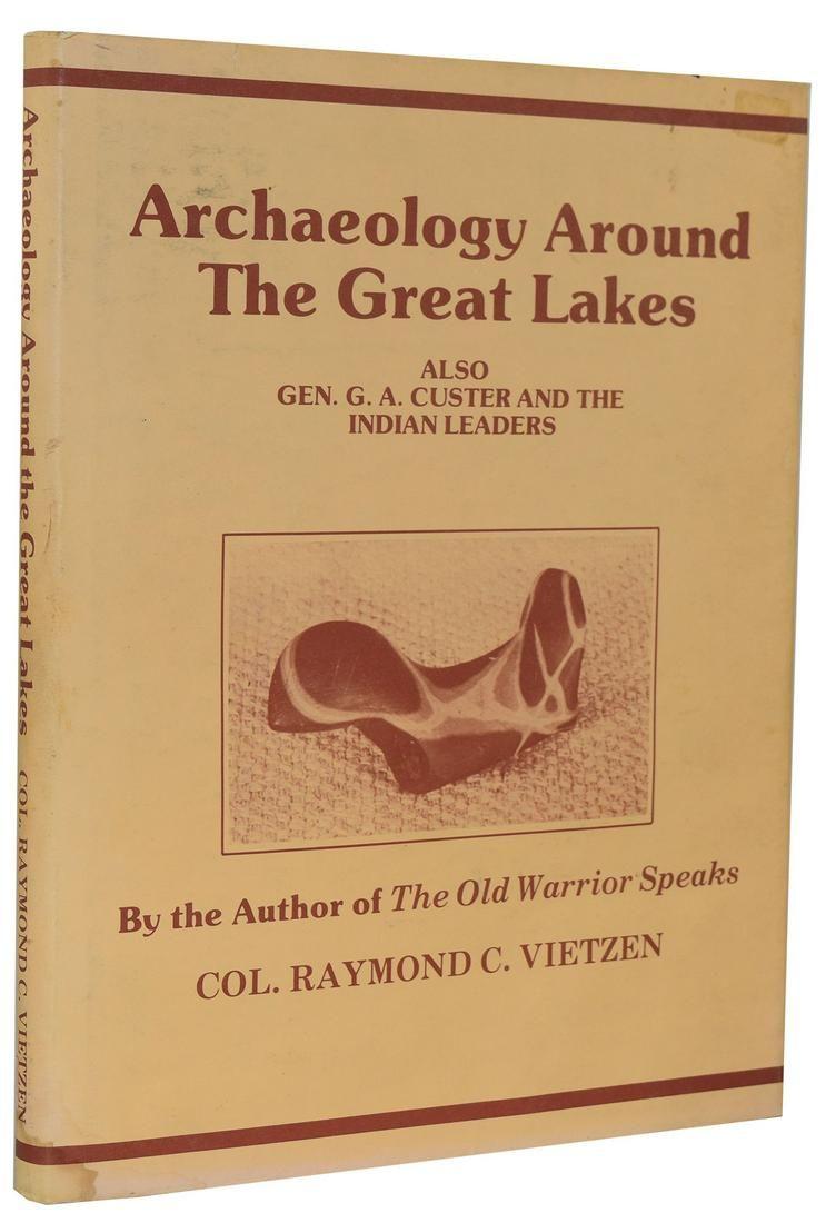 2 Vietzen Books: Prehistoric Americans (1989) and