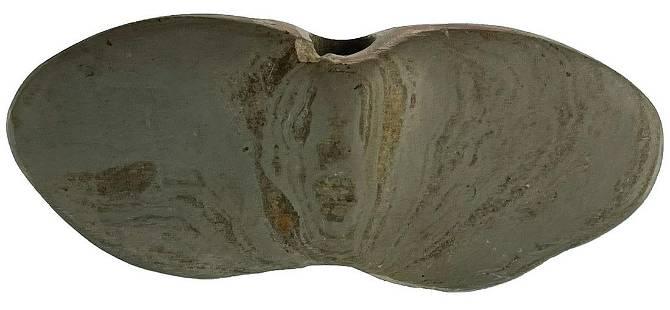 "4 5/8"" Slate Winged Bannerstone. Pickaway Co, OH."
