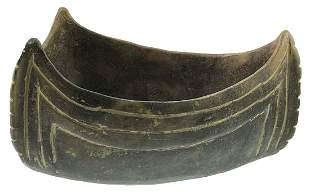 """7 13/16"""" D. Caddo Canoe Bowl. Pictured in Art of the"""