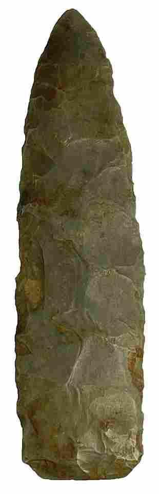 "3 3/8"" Paleo Lance. Ohio. Hornstone. Good"
