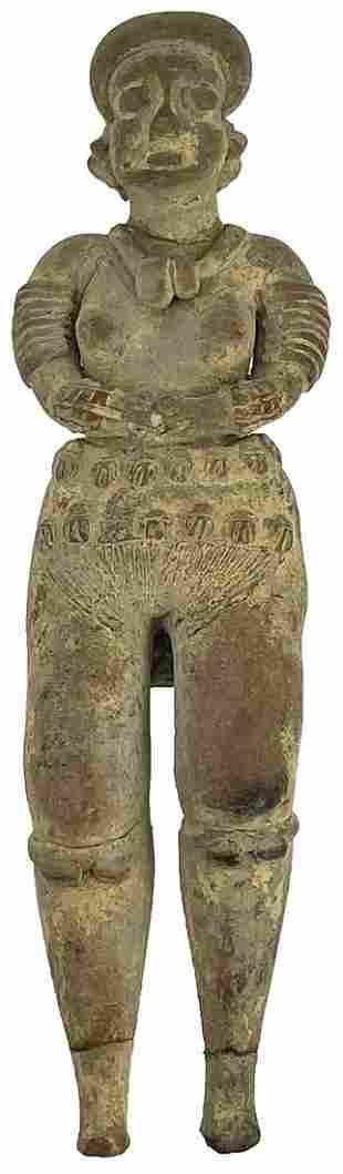 """8 1/2"""" H. Colima Ceramic Figurine. Mexico. Ample"""