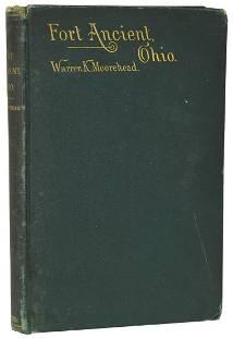 Book: Ft. Ancient Ohio (Warren Moorehead, 1890). Rare