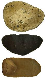 3 Superb Neolithic Uniface Blades found in England.
