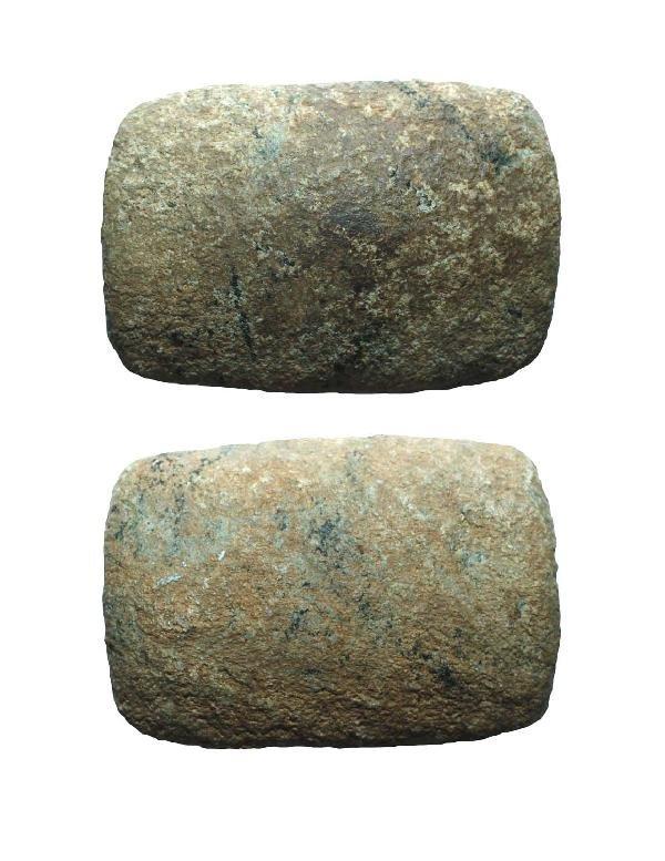 """7: 3 1/8"""" Preform Gneiss Bannerstone"""