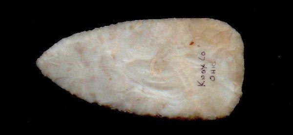 "415: 3 3/4"" Flintridge Adena Blade.  Stermer Paper"