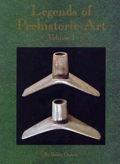 341: Book:  Legends of Prehistoric Art (Onken).