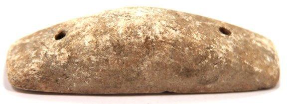 """63: 3 1/2"""" Limestone Boatstone.  Harrison Co, IN"""