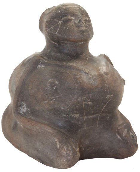 """241: 7 1/4"""" Full Body Human.  Pictured in Hathcock"""