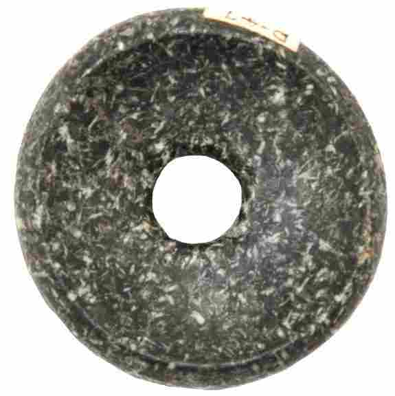 """1 7/8"""" Perforated Cahokia Discoidal. Pictured WW#"""