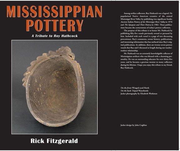 332: New Book:  Mississippian Pottery (Rick Fitzgerald)