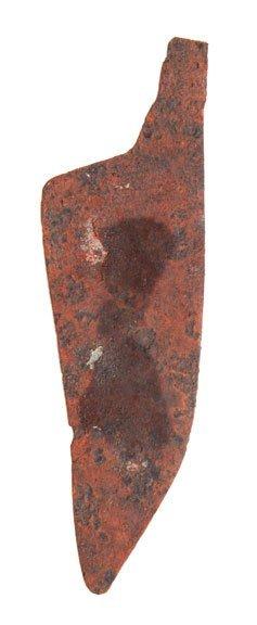 20: Historic Iron Knife.  Wyoming.  Davis G8 COA