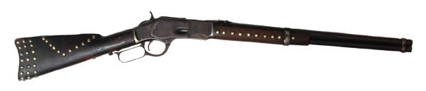 Indian Tacked Rifle.  Old South Dakota Collection