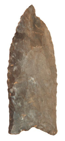 "2 7/8"" Clovis.  Great old TN relic from Stroud Collecti"