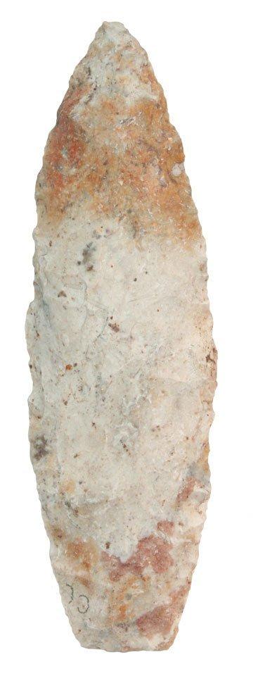 """4 1/8"""" Agate Basin.  MO.  Perino Paper.  Jeff City"""