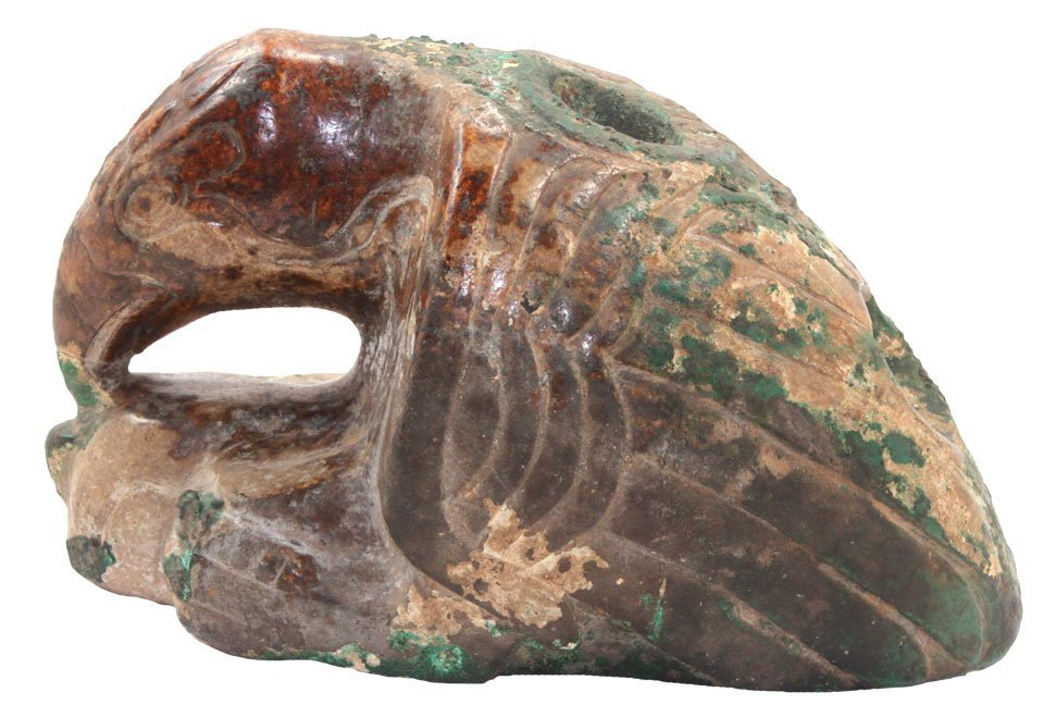 The Eagle Woman Effigy Pipe.  Spiro Mound.  LeFlore Co,