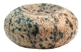 "4"" Discoidal. St. Clair Co, IL. Granite. Jackson COA"