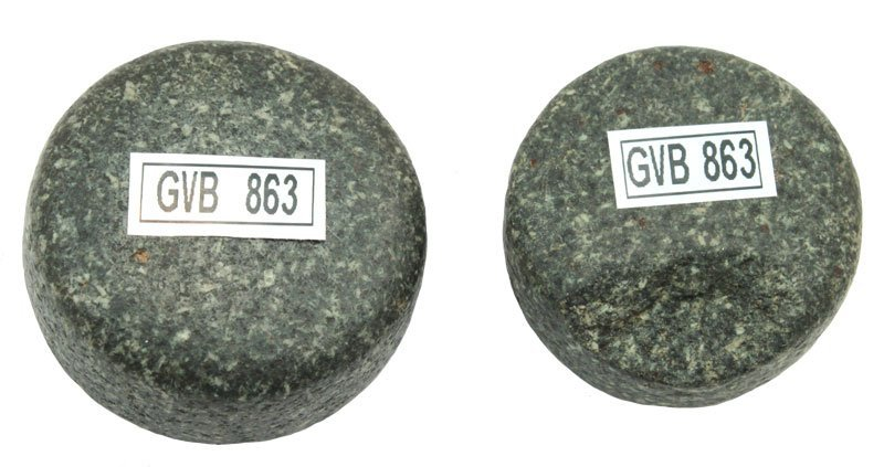 Two Hardsotne Disks.  Warren Co, OH.  Ex-Meuser