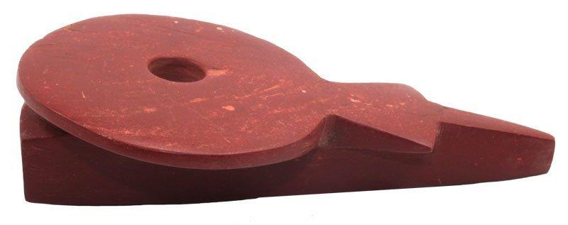 "4 7/8"" Historic Disk Pipe.  South Dakota.  Davis COA."