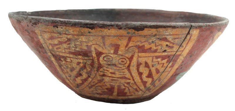 "8 7/8"" D.  Fine shallow bowl; flat bottom, wide flaring"