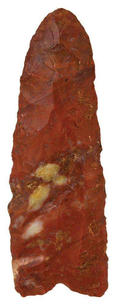 "3 1/4"" Clovis.  Southern Ohio.  Red mottled Flintridge."
