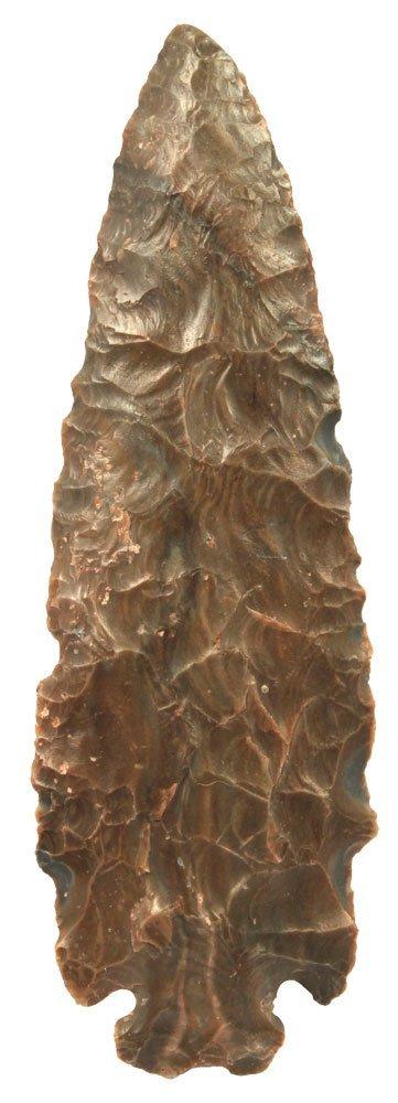 """5 15/16"""" Dovetail. Hornstone.  Davis G8 COA.  Large,"""