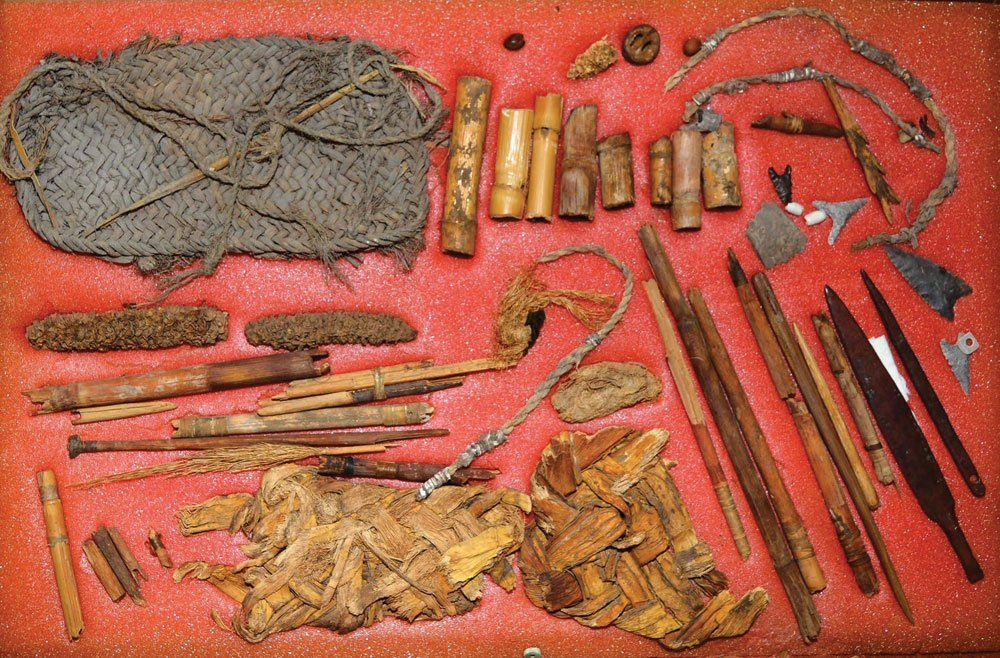 Group of site material from the Roy Hathcock collection