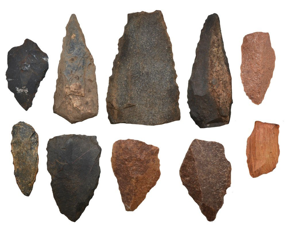 10 Blades from the Northwest Territory (Australia).